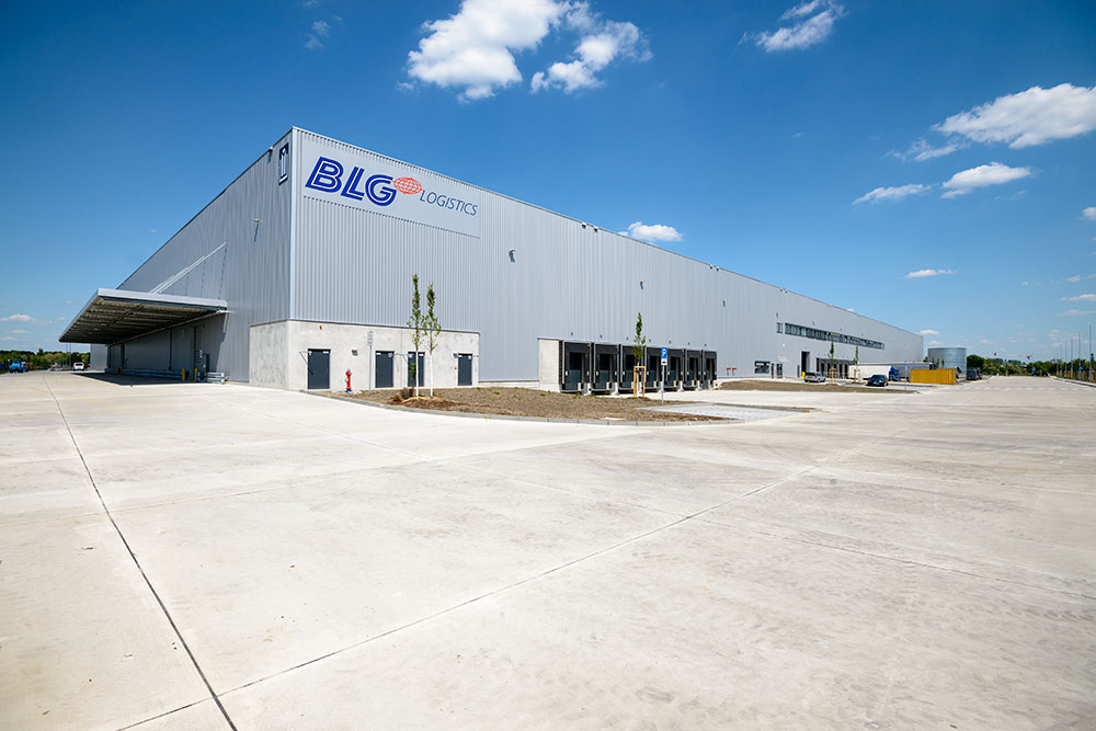 BLG Logistics | Die neue Logistikzentrum in Berlin-Falkensee